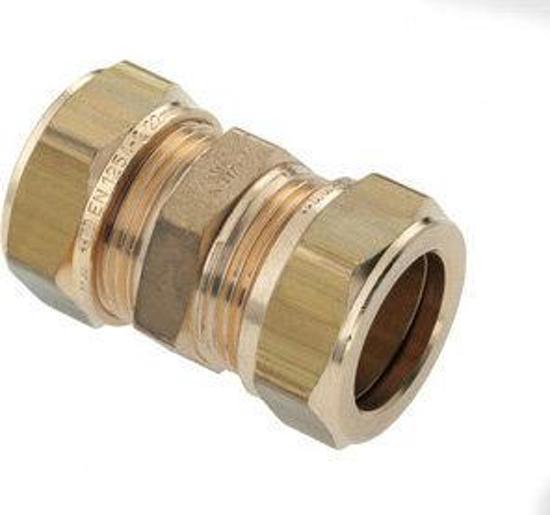Mes,Knelkoppeling 12X12 Mm Plieger Label Bl/Rd 3St (G/K)