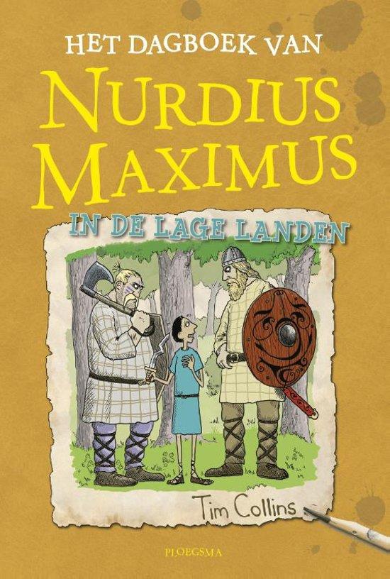 Boek cover Het dagboek van Nurdius Maximus in de Lage Landen van Tim Collins (Hardcover)