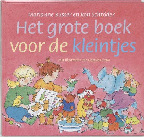 Cover van het boek 'Het grote boek voor de kleintjes' van Ron Schröder en Marianne Busser