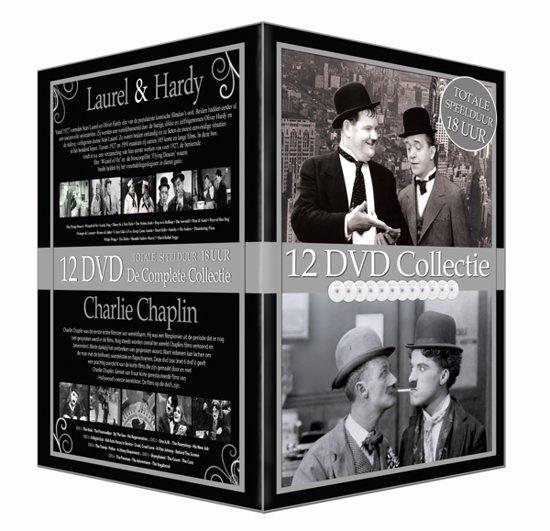 Laurel & Hardy/Charlie Chaplin 12 Dvd