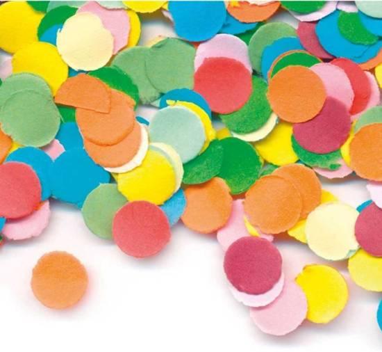 Gekleurde Confetti - 1kg Valentinaa