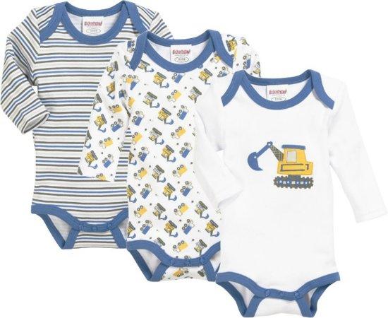Stoere Babykleding Maat 50.Bol Com Set Van 3 Stoere Rompers Voor Jongens Maat 50 56 Tinytoo