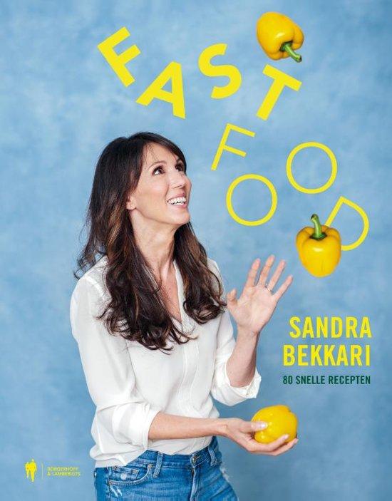 Boek cover Fast Food van Sandra Bekkari (Hardcover)