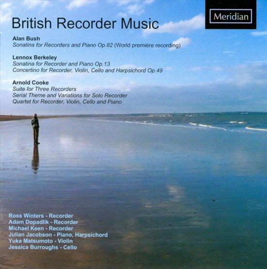British Recorder Music