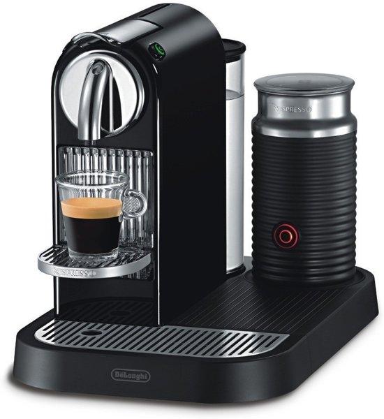 nespresso de 39 longhi citiz milk en 266 bae zwart. Black Bedroom Furniture Sets. Home Design Ideas