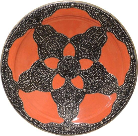 Oriental&More - Marokkaanse schaal - Hand beschilderd - 42 cm