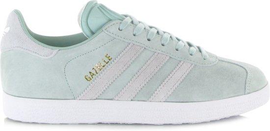 adidas Gazelle Sneakers - Maat 40 - Vrouwen - mintgroen/wit