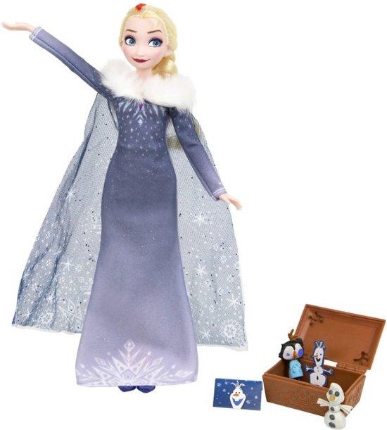 Hasbro Disney Frozen Tienerpop Elsa Meisjes 28 Cm Blauw/grijs