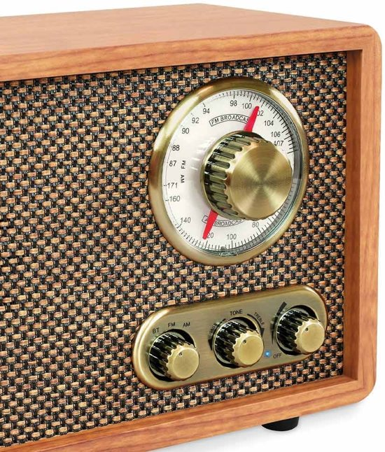 Victrola VRS-2800 Retro Radio Bluetooth Mahonie