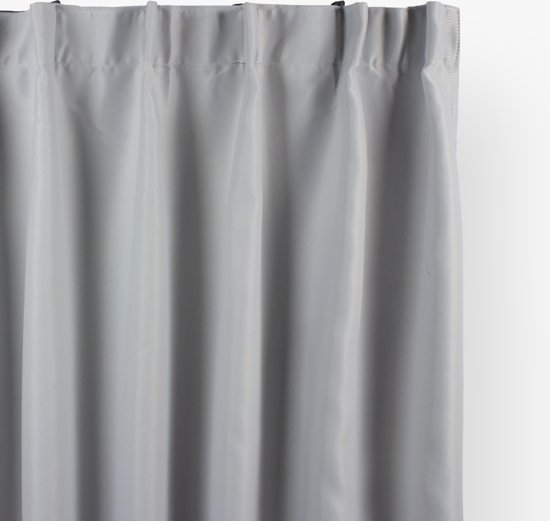 Plastic Gordijn Haakjes : Bol nightlife gordijn verduisterende gordijnen kant en klaar