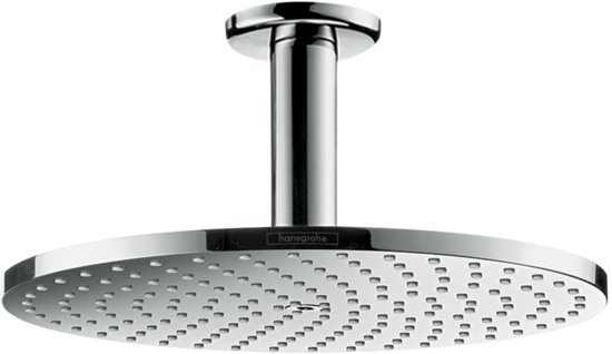 Hansgrohe Raindance Select - Hoofddouche PowderRain met plafondaansluiting - 1 straalsoort - chroom