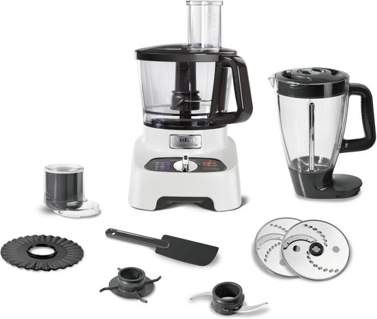 Tefal DoubleForce DO8221 -Foodprocessor - Wit
