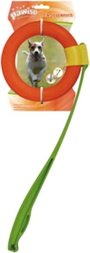Ring Launcher - Hondenspeelgoed - Werpstok - Met Ring