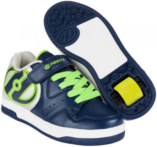 Chaussures À Roulettes Heelys Hyper - Chaussures De Sport - Enfants - Taille 35 - Bleu / Gris oAfoy