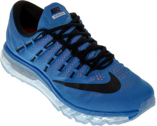 e42f813a923e02 ... Nike Air Max 2016 Sneakers Heren Sportschoenen - Maat 46 - Unisex -  blauw zwart . ...
