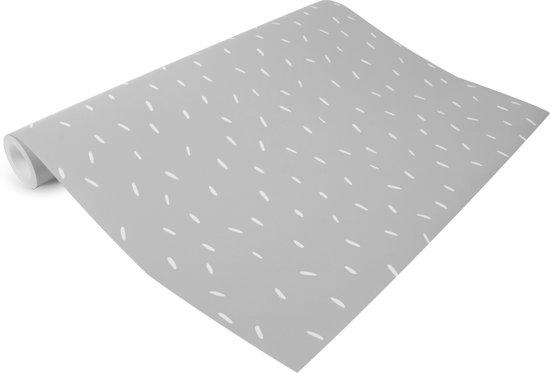 Behang Kinderkamer Grijs : Bol little dutch behang kinderkamer sprinkles grey