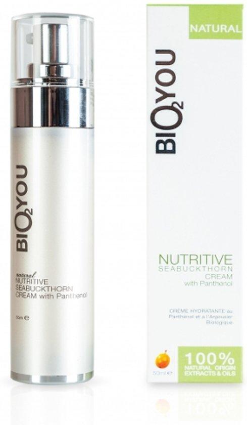 Bio2You natuurlijke voedende Duindoorn crème met panthenol