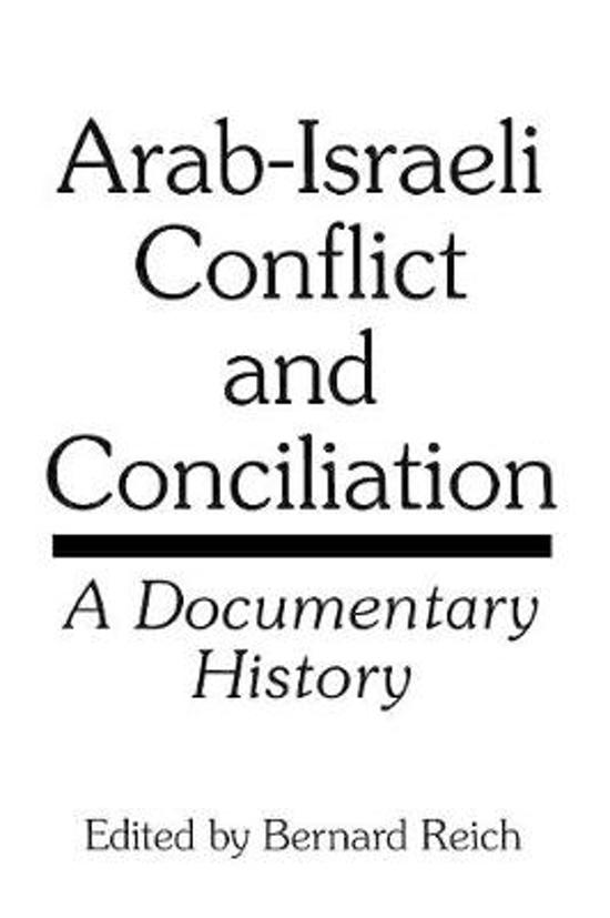 evolution of arab israeli conflict