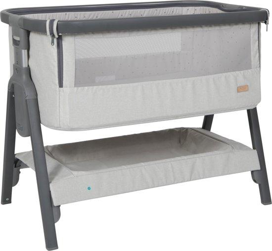 cheap for discount 36f91 a4e9a Tutti Bambini Cozee Bedside Wieg Grijs