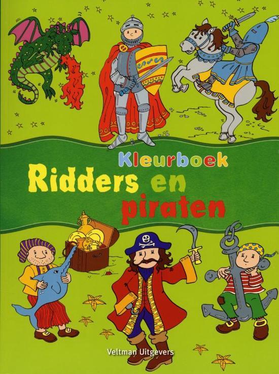 Kleurplaten Piraten En Prinsessen.Bol Com Kleurboek Ridders En Piraten 9789048304660 Boeken