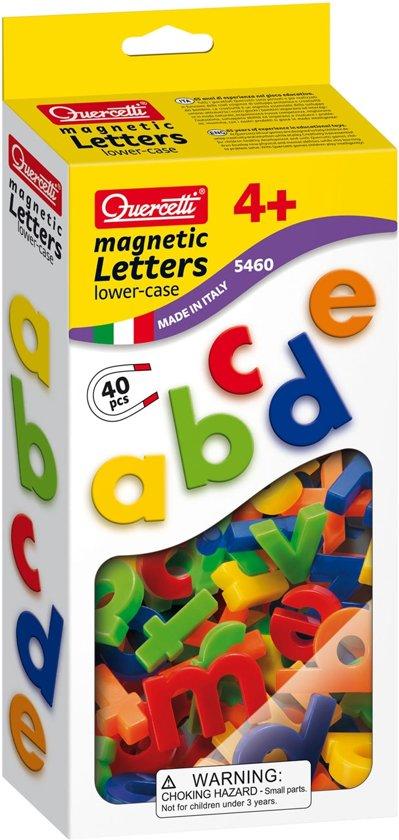 Afbeelding van het spel Quercetti kleine letters ABC magneten, 40st.