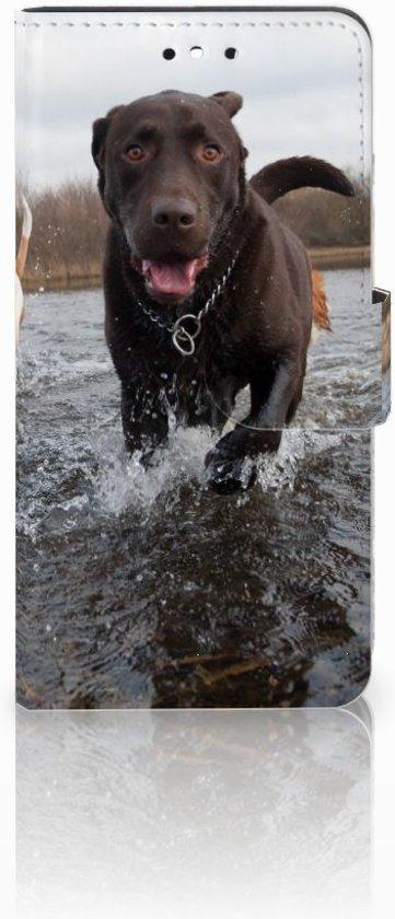 Huawei P8 Lite Smart (GR3) Hoesje Honden