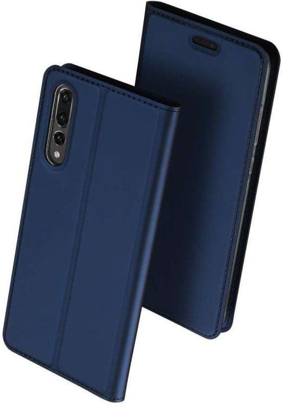 Porte-monnaie Bleu Livret Pour Tpu P Intelligent Huawei gGin6rUVm