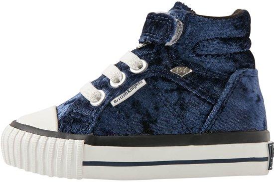 27493c24d13 British Knights DEE Baby meisjes sneakers hoog - Donker blauw - maat 20