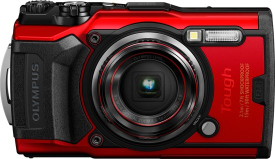 Olympus Tough TG-6 - Rood