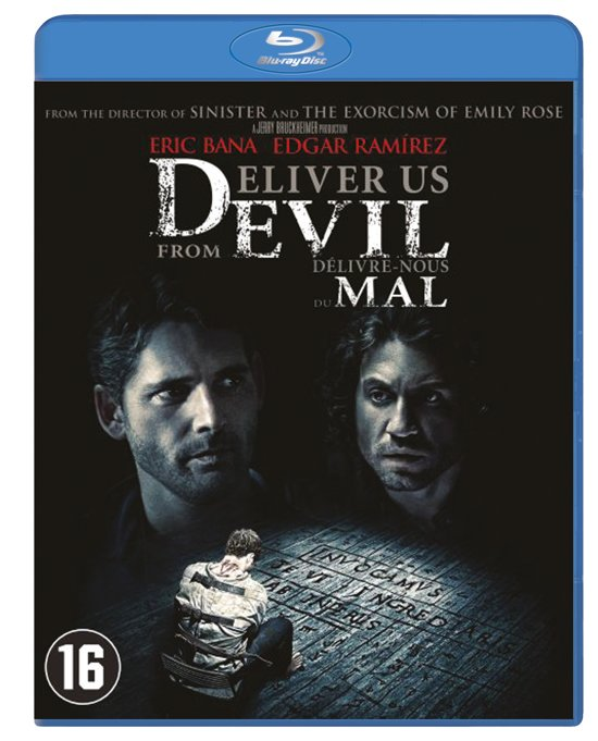 DVD cover van Deliver Us From Evil (Blu-ray)