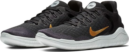 ee15756faa969 Nike Free RN Sportschoenen Heren Sneakers - Maat 38 - Mannen - zwart goud