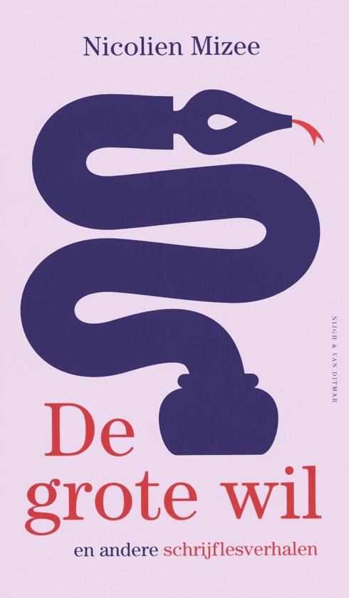 Boek cover De grote wil en andere schrijflesverhalen van Nicolien Mizee (Hardcover)