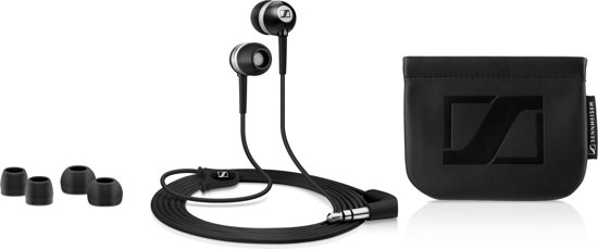 Sennheiser CX 300 II - In-ear koptelefoon - Zwart