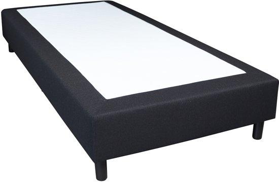 Slaaploods.nl Basic - Boxspring exclusief matras - 90x200 cm - Zwart