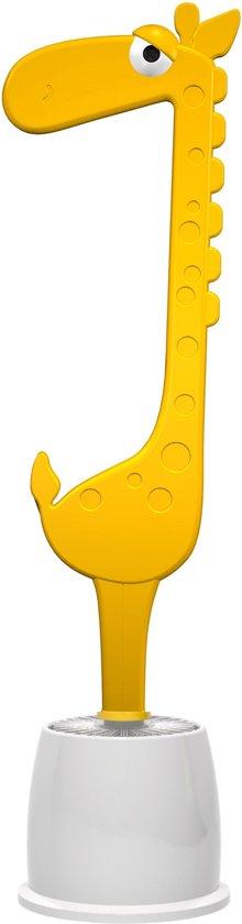 Dhink Giraffe WC Borstel Grappig en Leuke Toiletborstel Trendy- Geel