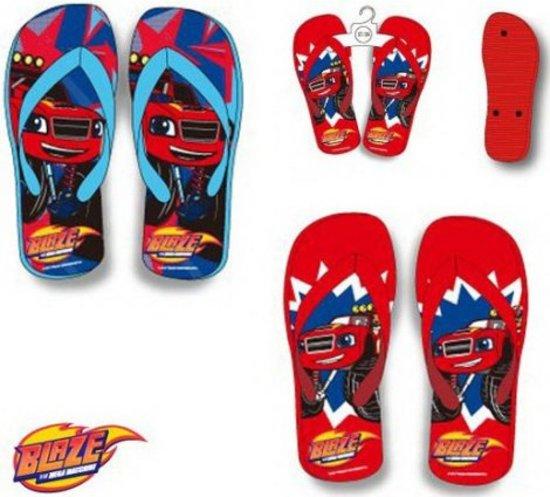 Blaze slippers 27 28 kleur rood