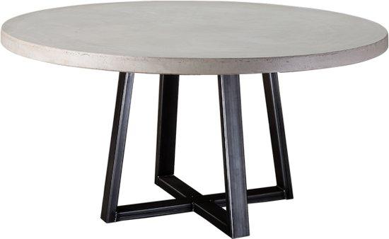 Ronde Tafel Diameter 150 Cm.Bol Com Table Du Sud Beton Ronde Tafel Pizou 150 Cm