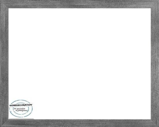 Homedecoration Misano – Fotolijst – Fotomaat – 21 x 24 cm  – Antraciet
