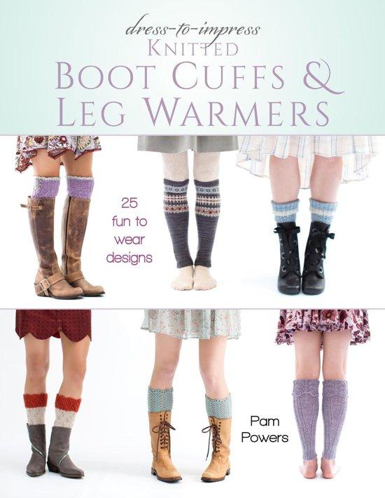 Dowager Faux Spat Leg Warmers