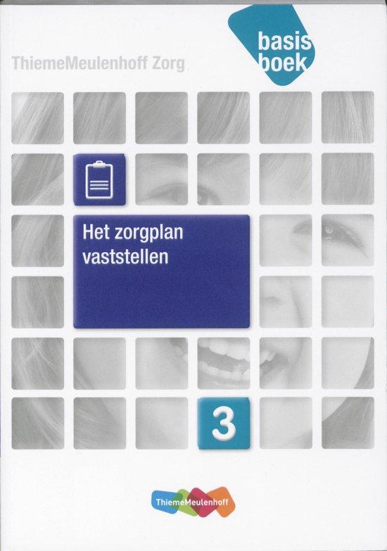 Zorg Basisboek het zorgplan vaststellen Niveau 3