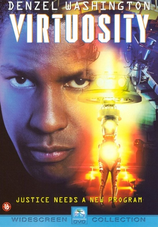 Cover van de film 'Virtuosity'