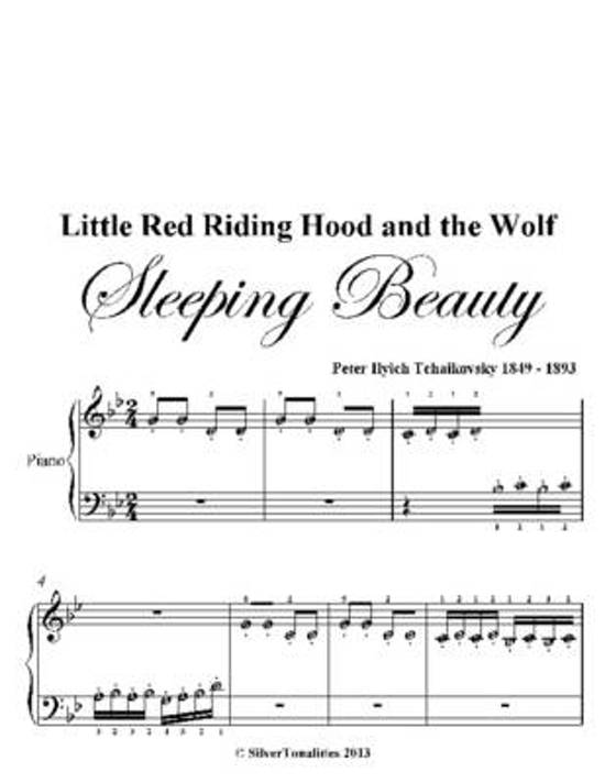 Bol Little Red Riding Hood And The Wolf Beginner Piano Sheet