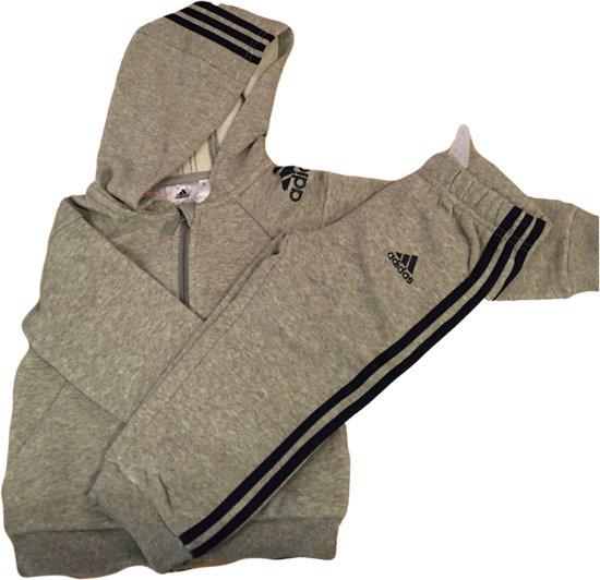 c77d474c35c bol.com | Adidas Baby Trainingspak - Grijs/Navy - Maat 80
