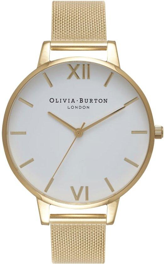 Olivia Burton Big Dial OB15BD84 - Horloge - Staal - Goudkleurig - Ø 38 mm