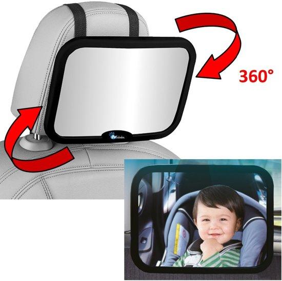 Spiegel Baby Auto.Altabebe Autospiegel Baby Achterbank Baby Spiegel Auto Zwart