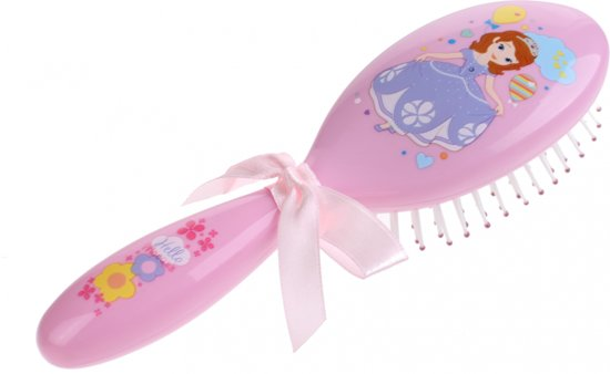 Disney Haarborstel Sofia 15 Cm Roze