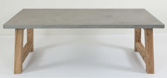 Salon Tafel Met Leisteen.Tafel Ardenne Met Eiken Poot In Leisteen Naturel Grijs 200 X 100 Cm