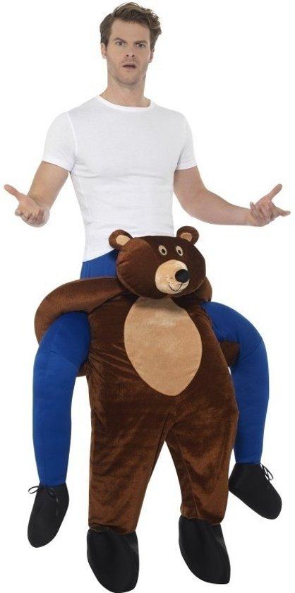 Instap dierenkostuum beer voor volwassenen - berenpak