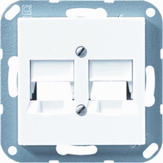 Jung Afdekking voor modular jack  -wit-