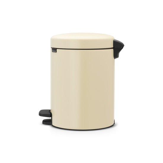 Brabantia NewIcon Pedaalemmer 5 Liter Amandel